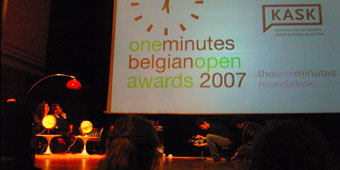 one minutes award ceremony